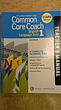 Common Core Coach - English Language Arts…