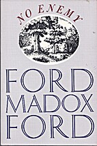 No Enemy by Ford Madox Ford