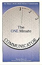 One Minute Communicator: One Minute a Week…