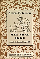 Man skal ikke by Robert Storm Petersen