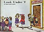 Look under V by Margaret Mahy