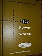 Patterns in Spelling and Writing 1620 Power…