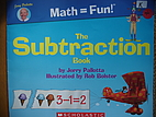 The Subtraction Book by Jerry Pallotta