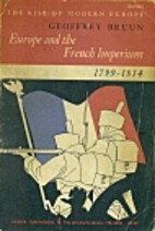 Europe and the French Imperium, 1799–1814…