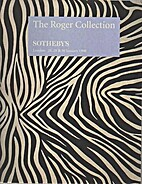 The Roger Collection. Sotheby's London…