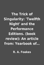 The Trick of Singularity: 'Twelfth Night'…