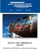 Alcoa Technical Report - Vol. 8 by Alcoa