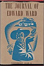 The journal of Edward Ward 1850-51 : being…