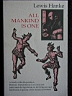 All mankind is one; a study of the…