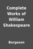 Complete Works of William Shakespeare by…