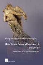 Handboek Gezondheidsrecht. Volume I.…