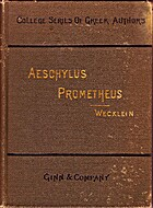 The Prometheus bound of Aeschylus and the…