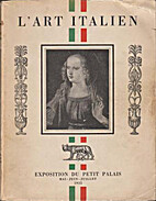 L'art italien by Raymond Escholier