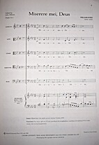 Miserere Mei, Deus by William Byrd