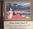 Pope John Paul II: Homily at Giants Stadium…