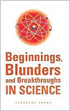 Beginnings, Blunders, and Breakthroughs in…