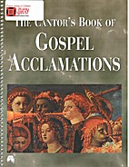 The cantor's book of gospel…