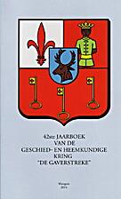 42ste Jaarboek van de Geschied- en…