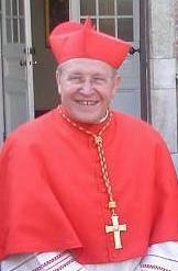 Author photo. Walter Cardinal Kasper, 2008. Photo by user Carolus / Wikipedia
