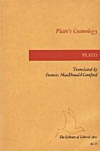 Plato's Cosmology by Plato