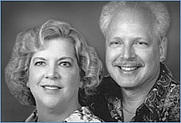 Author photo. Giulio Maestro with wife and co-author Betsy Maestro