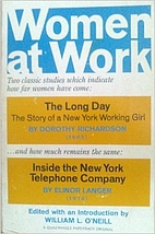 Women at Work by William L. O'Neill