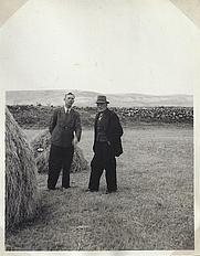 Author photo. Nils Holmer (left) [credit: Gáidhlig Dhail Riata]
