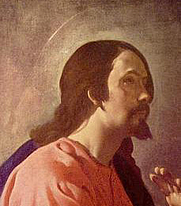 Author photo. Detail from Christ in Emmaus by Diego Velázquez, 1618.