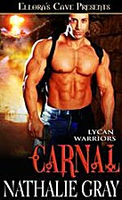 Carnal (Lycan Warriors, #3) by Nathalie Gray