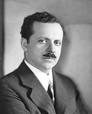 Author photo. Edward Bernays - A nephew of Sigmund Freud