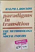 Paradigms in Transition: The Methodology of…