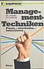 Management-Techniken : planen, entscheiden,…