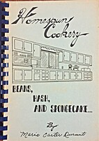 Homespun Cookery by Marie Carter Durant