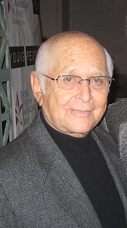Author photo. Norman Lear on January 17, 2008 [source: Matt Stoller, cropped from Flickr]