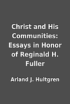 Christ and His Communities: Essays in Honor…