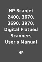 HP Scanjet 2400, 3670, 3690, 3970, Digital…