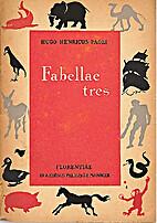 Fabellae tres by Ugo Enrico Paoli