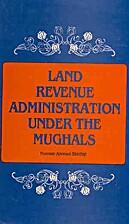 Land revenue administration under the…