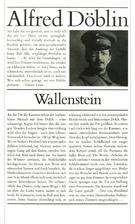 Wallenstein by Alfred Döblin