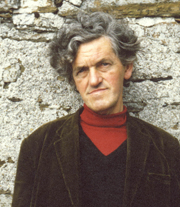 "Author photo. George Mackay Brown, author of ""Beside the Ocean of Time"""