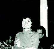 Author photo. Fan R. K. Chung. Photo by Konrad Jacobs.