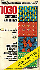 Mon Tricot Knitting Dictionary: 1030…