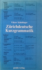 Zürichdeutsche Kurzgrammatik by Viktor…