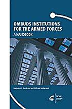 Ombuds institutions for the armed forces a…