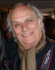 Author photo. Carlos Saura in Calanda, Teruel (Spain), March 21st, 2008. Photo by José Antonio Bielsa Arbiol