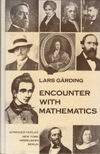 Encounter with Mathematics. by L. Garding