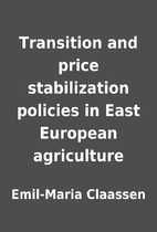 Transition and price stabilization policies…