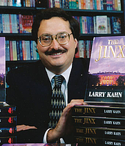 Author photo. B&N book launch for The Jinx