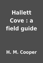 Hallett Cove : a field guide by H. M. Cooper