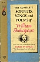 The Sonnets, Songs and Poems of Shakespeare…